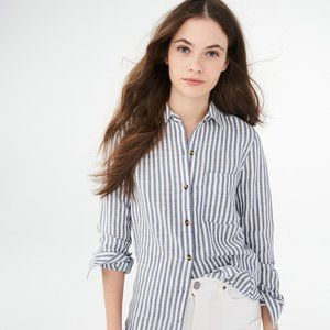 Striped Woven Button Down from Aeropostale